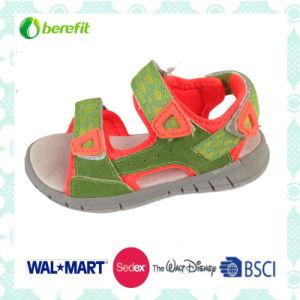 EVA Sole and Canvas Shoes, Children′s Sandals pictures & photos