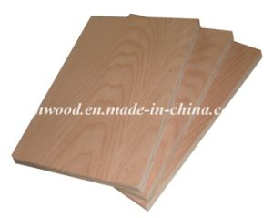 Beech Veneered Plywood for Furniture and Decoration pictures & photos