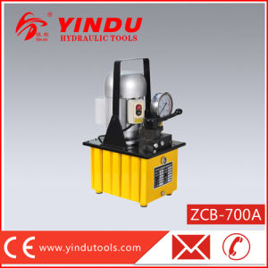 Single Active Hydraulic Electric Pump (ZCB-700A) pictures & photos