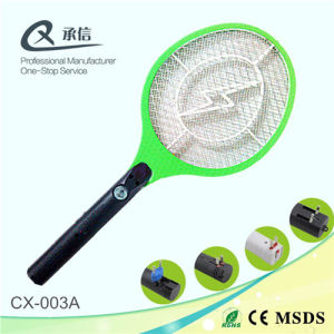 Lightning Shape Electronic Mosquito Racket with Light pictures & photos