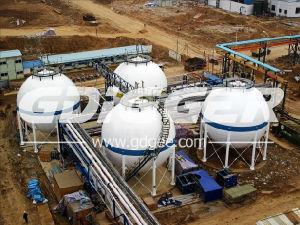 Asme Standard 300m3 to 6000m3 LPG Spherical Tank Storage Tank