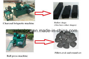 Coal Dust Briquette Extruder Machine (MBJ-180) Coal Briquette Pellet Extruder pictures & photos