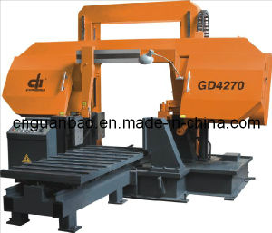 Double Column Band Saw for Metal Cutting Gd4270 pictures & photos