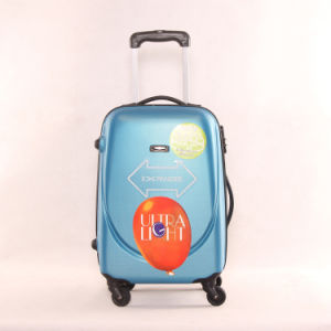 3PCS Hard Luggage Trolley Case ABS Luggage Bag