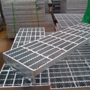 Galvanzied Step Slab Stair Grating Plate pictures & photos