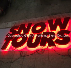 Illuminated Sign Letters Outdoor LED Epoxy Resin Sign pictures & photos