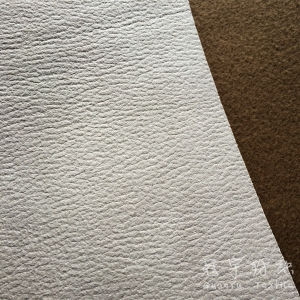 Faux Leather Woven Drapery Sofa Fabric pictures & photos