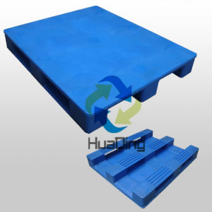 L1200*W1000*H160mm Heavy Duty 3 Runners Closed Deck Hygeian Plastic Pallet, Tray pictures & photos