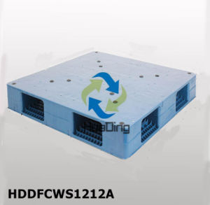 Transport Smooth Faced Plastic Pallet Manufacturing with HDPE From China pictures & photos