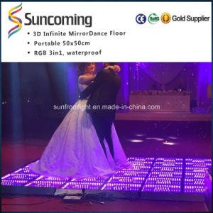 Wedding Party 3D Mirror Cheap Dance Flooring pictures & photos