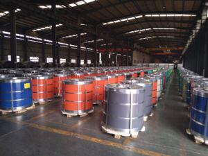 Cold Rolled Pre-Painted Galvalume Steel Coil pictures & photos