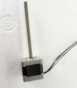 14HJ3408 Series NEMA14 Linear Stepper Motor for Rail (14HJ3408series) pictures & photos