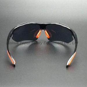 ANSI Z87.1 Black Frame and Lens Safety Glasses (SG115) pictures & photos