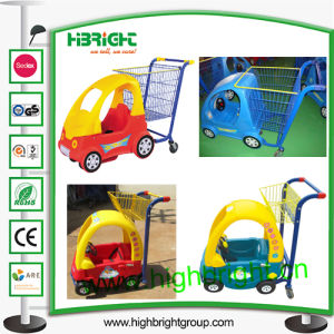 Hot Sale Supermarket Kids Shopping Trolley pictures & photos