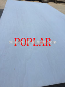 9mm Best Price High Quality Laminated Lumber Bleached Poplar Plywood Directly From Mills pictures & photos