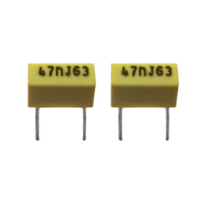 Box-Type Polyester Film Capacitor (lead space 5mm) pictures & photos