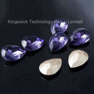 K9 Quality Crystal Pear Fancy Stone pictures & photos