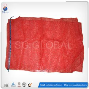 Drawstring Raschel Net Bags for Vegetables pictures & photos