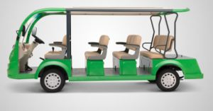 Stable Performance for 11 Seater Electric Sightseeing Bus Made by Dongfeng Motor pictures & photos