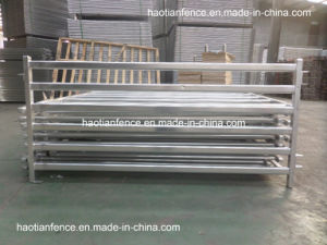 Hot Dipped Galvanized 6 Bar Portable Sheep Panel pictures & photos