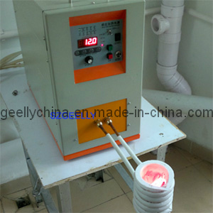 Metals Melting Machine/ Induction Melting Furnace/High Frequency Melting Furnace pictures & photos