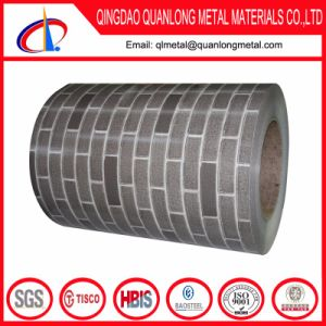 Gray Red Brick Pattern Printing PPGI Steel Coil pictures & photos
