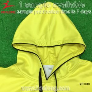 Polyester Full Sublimation No Sleeve with Cap Hoody pictures & photos