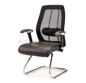 Hot Sale Modern Cheap Leather Mesh Visitor Meeting Chair (SZ-OC197) pictures & photos