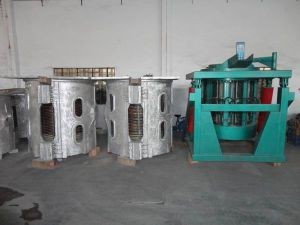 Small Induction Gold Melting Furnace pictures & photos