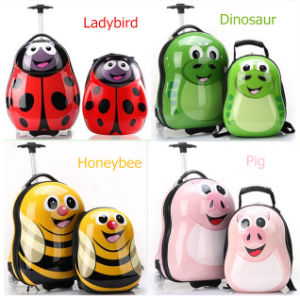 OEM 6 Styles Kids/Child Animal 2 Wheel Luggage and Travel Backpack Bag with Separate Available