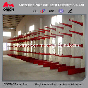 Steel Storage Single Side Cantilever Racking pictures & photos