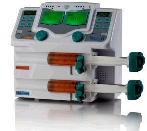 Double Channel Syringe Pump with Voice Alarm (SP-50B2) pictures & photos