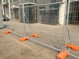 Portable Construction Temporary Fence Panels 42 Microns Hot Dipped Galvanized pictures & photos