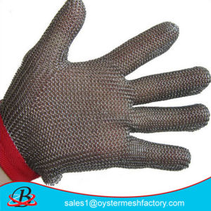 Stainless Steel Wire Mesh Safety Gloves pictures & photos