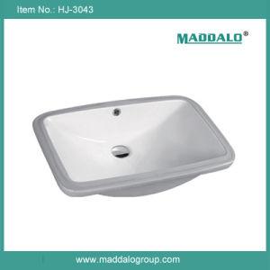 Counter Basin,Rectangular Shape Wash Basin,Bathroom Equipment (HJ-3043)