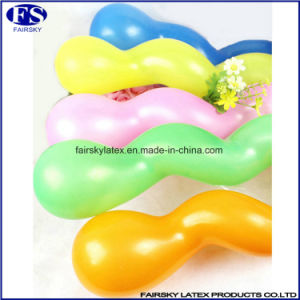 Children Playing Toy Natural Latex Spiral Balloon pictures & photos