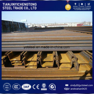Large Reay Stock U-Shape Steel Sheet Piling 400X100X10.5mm pictures & photos