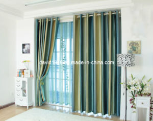 Hot Sale Printed Blackout Grommet Panel/Curtain (SZSMEBP014)