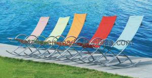 Outdoor Patio Beach Garden Model Textilene Lounger pictures & photos