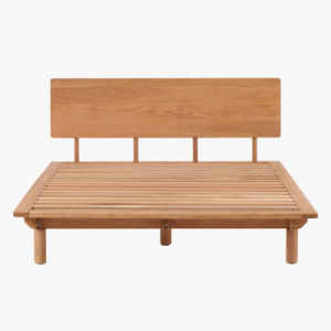 China antique modern oak living room solid wood bed wooden furniture bedroom furniture china for Modern solid wood bedroom furniture