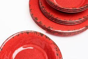 Crack Plate Bowl Porcelain Imitating Dinnerware Set Dinnerware pictures & photos