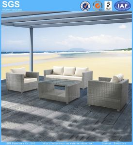 Outdoor Balcony Sofa Customize OEM Poly Rattan Furniture pictures & photos