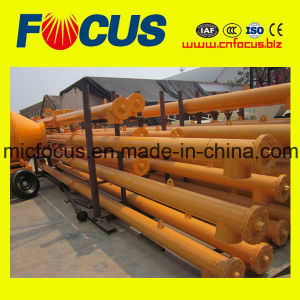 Hot Sale Spiral Cement Flexible Screw Conveyor for Cement Silos pictures & photos