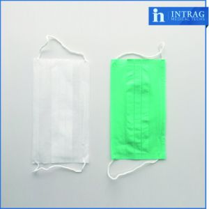 Non-Woven Surgical Face Mask Tie on 3ply pictures & photos