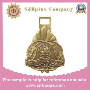 Antique Gold 3D Medal, Award pictures & photos