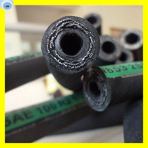 High Pressure Synthetic Rubber Hose Hydraulic Oil Hose pictures & photos