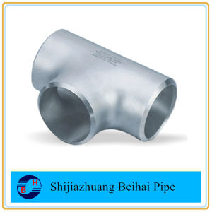 ANSI B16.9 Stainless Steel Pipe Fitting A403 Wp304L Straight Tee pictures & photos