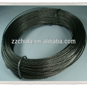 China Famous Brand 99.95% High Purity Stranded Tungsten Wire