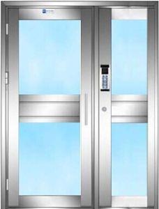 Aluminum Password Automatic Casement Door pictures & photos