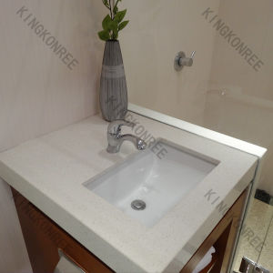 China Modern Imitation Stone Solid Surface Bath Vanity Top With Custom Size China Bath Vanity